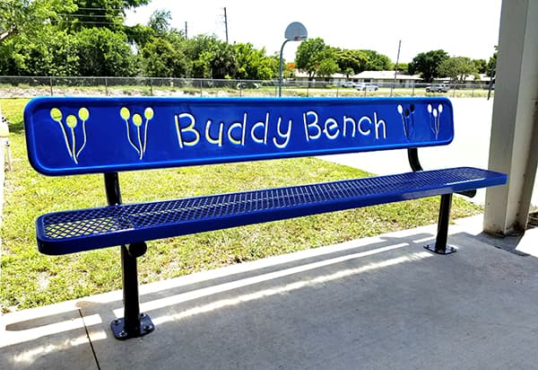 Benefits of Having a Buddy Bench